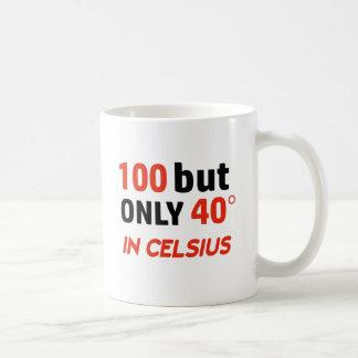 Funny 100th birthday design coffee mug