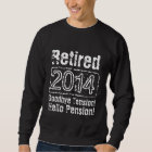 Funny 2014 Retirement shirts for retired men