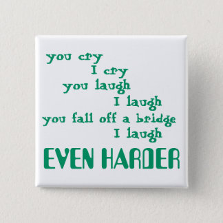 funny 2 inch square button