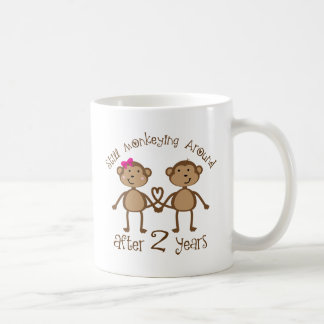 Funny 2nd Wedding Anniversary Gifts Coffee Mug