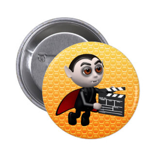 Funny 3d Dracula Vampire Movie Pins