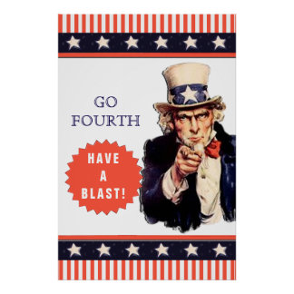 Funny 4th of July Poster
