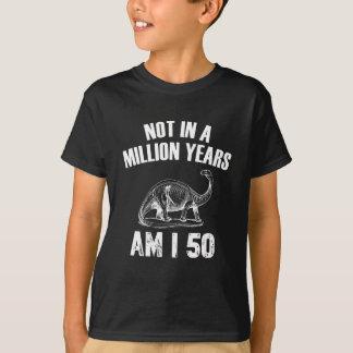 Funny 50 years birthday designs T-Shirt