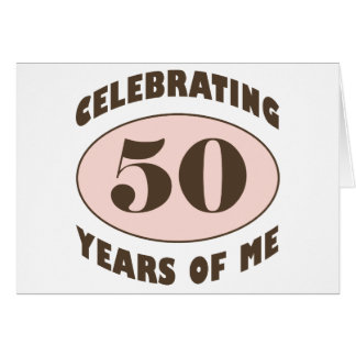 Funny 50th Birthday Gifts Card