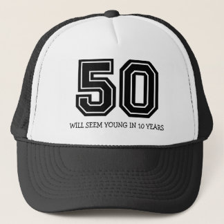 Funny 50th Birthday Trucker Hat