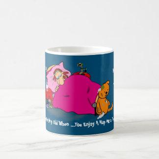 Funny 50th Getting Older Gag - Love Naps Custom Coffee Mug