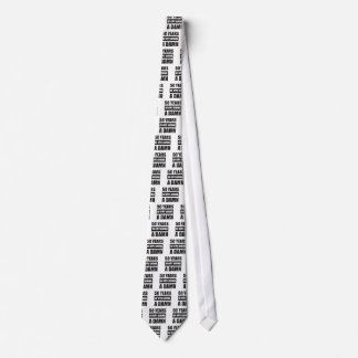 Funny 50th year birthday gift tie