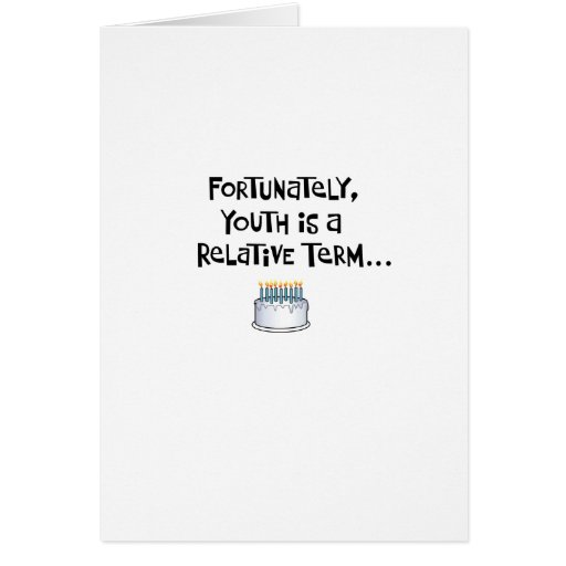 Funny 55th Birthday Greeting Card for Him