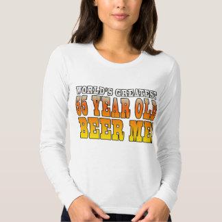 Funny 55th Birthdays : Worlds Greatest 55 Year Old Tshirt