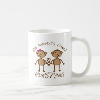Funny 57th Wedding Anniversary Gifts Coffee Mug
