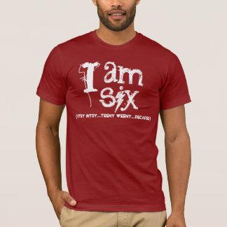 Funny 60th  Birthday Shirt  I am Six Decades