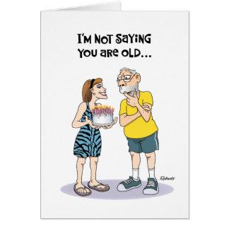 Funny 61st Birthday Card for Men