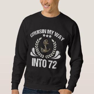 Funny 72nd Birthday Shirt For Cruising Lover.