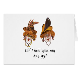 Funny 75th Birthday for Woman Card