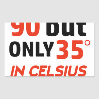 Funny 90th birthday design sticker