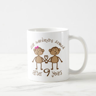 Funny 9th Wedding Anniversary Gifts Coffee Mug