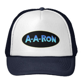 Funny A-A-Ron AARON Trucker Hat