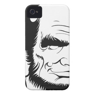 funny abraham lincoln caricature iPhone 4 Case-Mate case