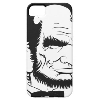 funny abraham lincoln caricature iPhone 5 covers