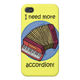 funny accordion iPhone 4 case