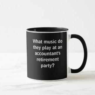 Funny Accountant Retirement Joke Pun Quote Mug