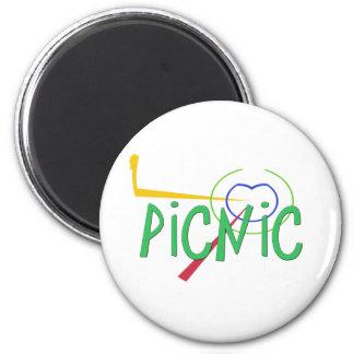Funny Acronym- PICNIC Magnet
