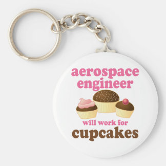 Funny Aerospace Engineer Basic Round Button Keychain