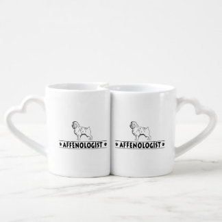 Funny Affenpinscher Affie Affenologist Coffee Mug Set