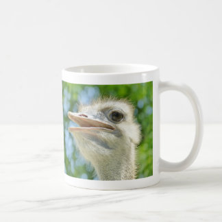 Funny African Ostrich Portrait - Mug