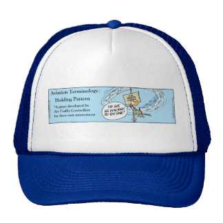 Funny Air Traffic Control Aviation Terminology Trucker Hat