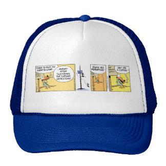 Funny Air Traffic Control Coffee Joke Trucker Hat