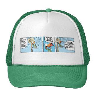 Funny Air Traffic Control Trucker Hat