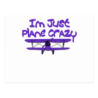 Funny Airplane Postcard
