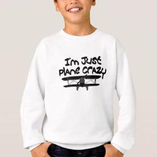funny airplane sweatshirt