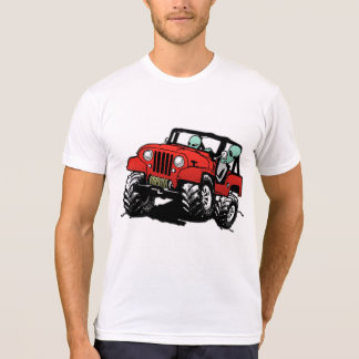 Funny Alien 4x4 Rock Crawler T-Shirt