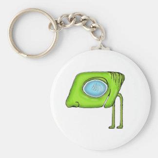 Funny Alien Monster Character Keychain