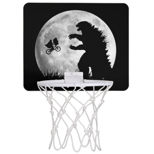 Funny ALIENS vs MONSTERS Mini Basketball Hoop