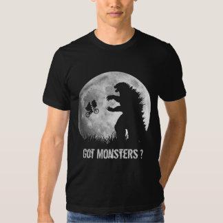 Funny ALIENs vs MONSTERS Tshirts