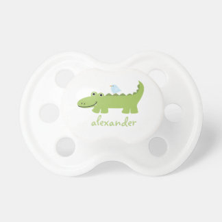 Funny Alligator and Bird Pacifier