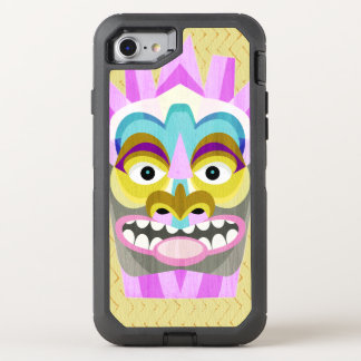 Funny Aloha Tiki Hut Monster OtterBox Defender iPhone 8/7 Case