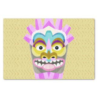 Funny Aloha Tiki Hut Monster Tissue Paper