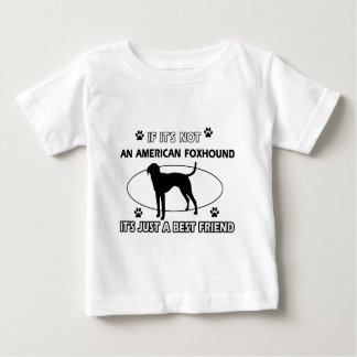 funny AMERICAN FOXHOUND designs Baby T-Shirt