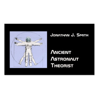 Funny Ancient Astronaut Business Card