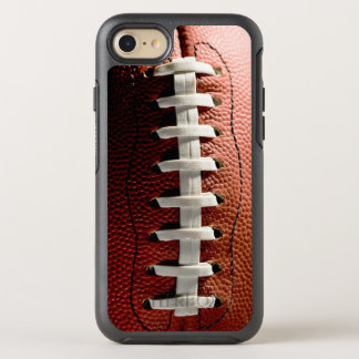 Funny and Cool Football Pattern Sports Fan OtterBox Symmetry iPhone 8/7 Case
