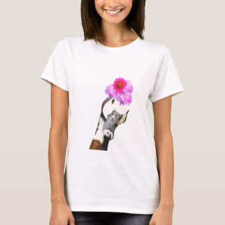Funny and cute goose animal watercolor T-Shirt