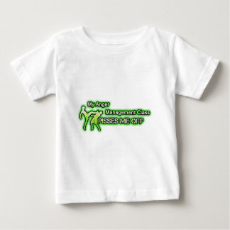 Funny Anger Management Baby T-Shirt