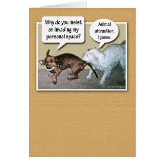 Funny Animal Attraction Card