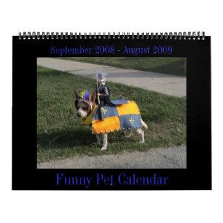 Funny Animal Calendar