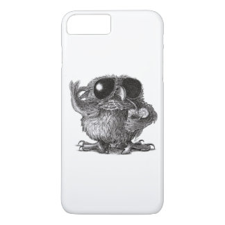 Funny Animal Cool Owl iPhone 8 Plus/7 Plus Case