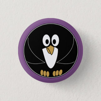 Funny animal - Penguin 1 Inch Round Button